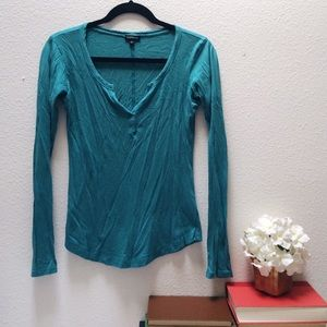 Sale! - Turquoise Express Long Sleeve Tee
