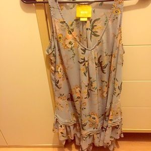 Anthropologie Tank-Final price, not going lower.