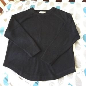 Sweet Romeo Sweaters - S Black cropped sweater