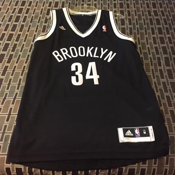 best loved 78a68 dc105 Brooklyn Nets Paul Pierce nickname jersey
