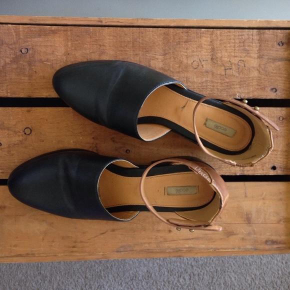34895a21ed407 Ecote Shoes - Ecote ankle strap mule / vegan shoes