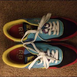 d7120e46521 ... Reebok Shoes - Rare Roland Berry classic multi-colored Reeboks  Classic  x Rolland ...