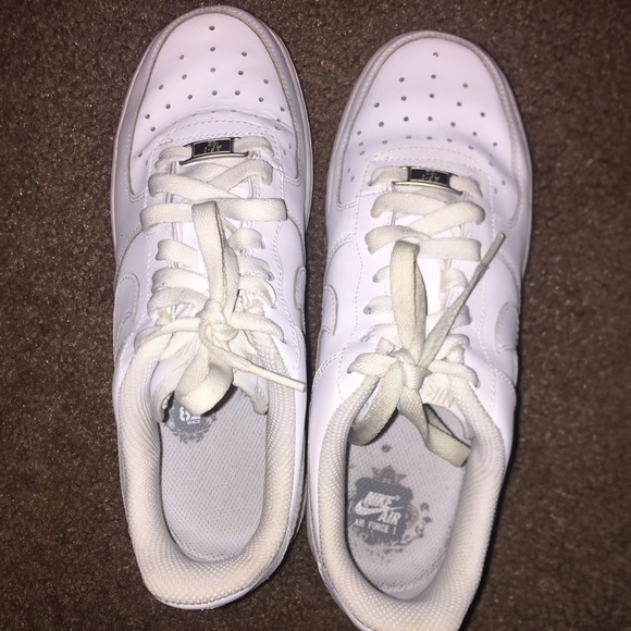 Nike Shoes   All White Air Force Ones