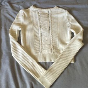 Cropped Nasty Gal sweater