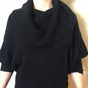 Express black cowl neck sweater