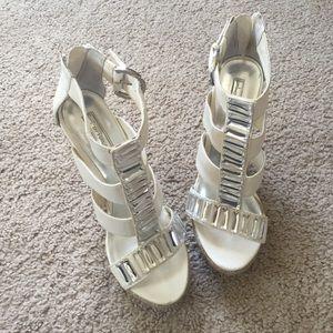 Halston Heritage Shoes - Super high Halston wedges