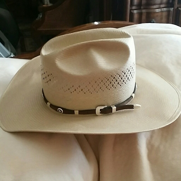 AMERICAN HAT COMPANY, INC. Accessories   AMERICAN HAT STRAW COWBOY HAT