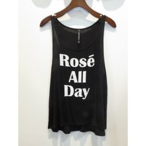 Tops - Rosé All Day Top