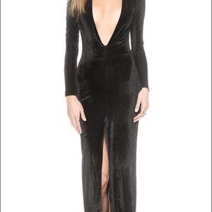 Solace London velvet dress