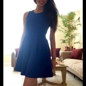 Cobalt Blue Bell Shape Dress 💎