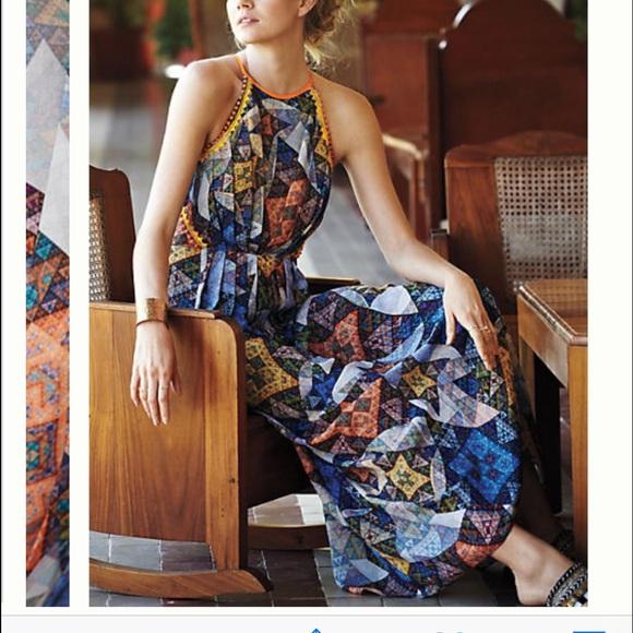 766d2f7559c9 Anthropologie Dresses | Condesa Maxi Dress By Ranna Gill | Poshmark