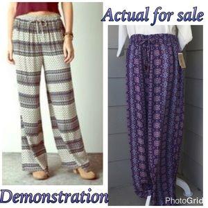 American Vintage Pants - Drawstring pants America Vintage Blues