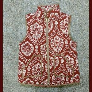Jackets & Blazers - ❤DAMASK PRINT-PUFFER VEST❤