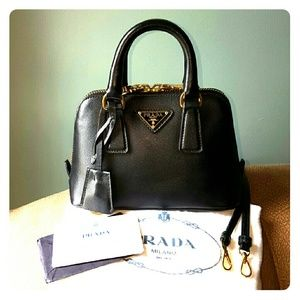 25% off Prada Handbags - SOLD -- Prada Saffiano Promenade Mini Bag ...