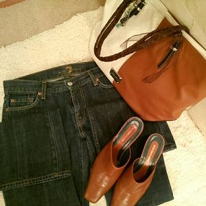 7FAM flared jeans