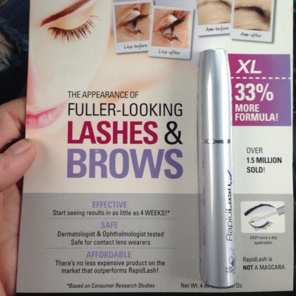 Rapidlash Makeup Nwt Xl Eyelash Brow Enhancing Serum Poshmark