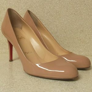 28% off Christian Louboutin Shoes - Christian Louboutin glitter ...