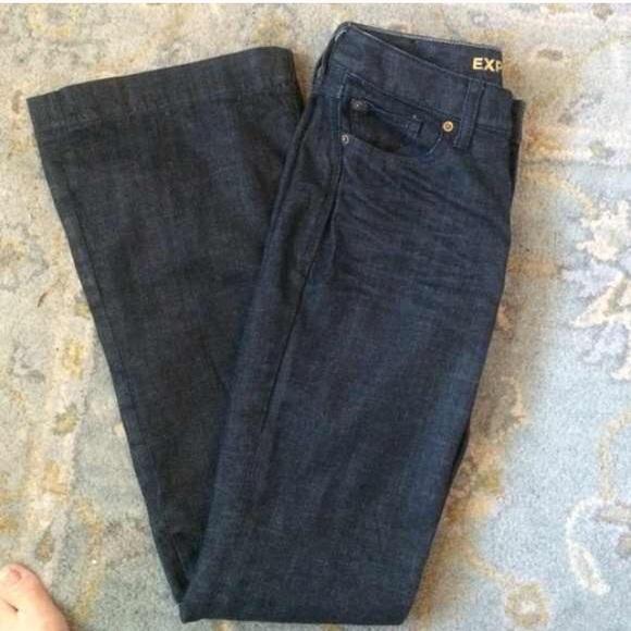 Express Denim - EXPRESS Dark Jeans EVA Fit & Flare