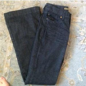 EXPRESS Dark Jeans EVA Fit & Flare