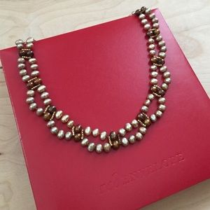 Scalloped Pearl Necklace ❤️HostPick❤️