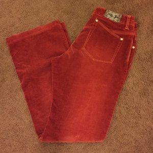 Suede pants size 6. Great color