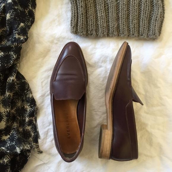 69652d492fd Everlane Shoes - Everlane classic modern burgundy loafer
