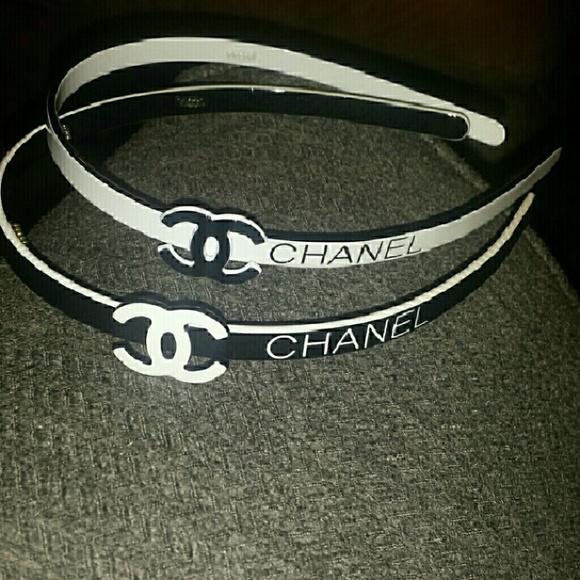 Accessories - 2- chanel headbands 651f6c6655e