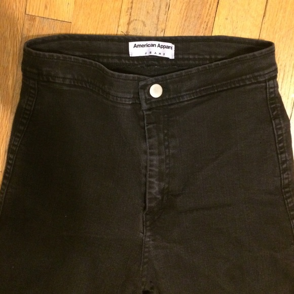62% off American Apparel Denim - AA black easy jeans from ...