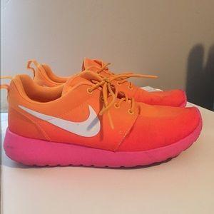 nike shoes pink and orange thenavyinn co uk