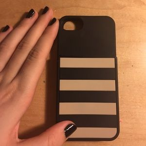 Kate spade phone case and card holder 5/5s