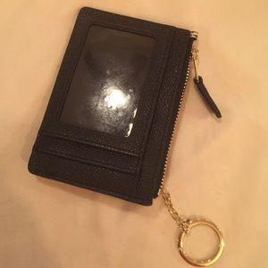 0c809369ed08d Coach Bags - Zebra Coach ID wallet with keychain