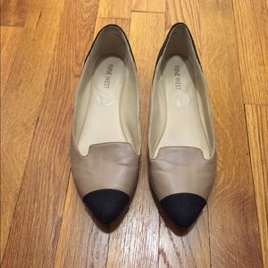 Nine West leather flats