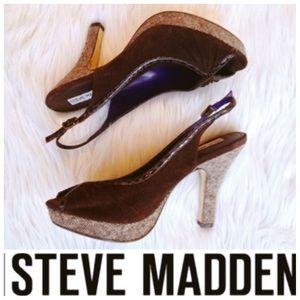 SALE TODAYSTEVE MADDEN Open Toe Heels