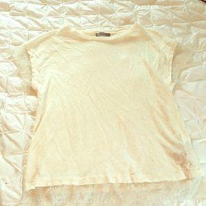 Zara Lace Trim Top