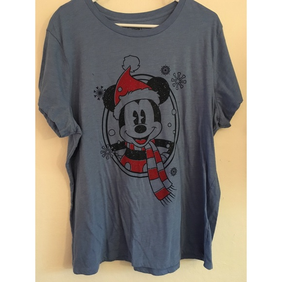 55% off Old Navy Tops - Mickey Mouse Christmas Shirt from ...