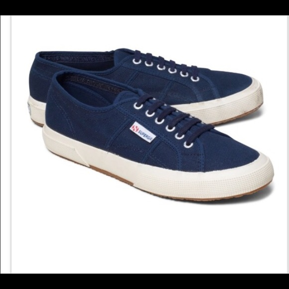 Superga Shoes   Brand New Navy Classic