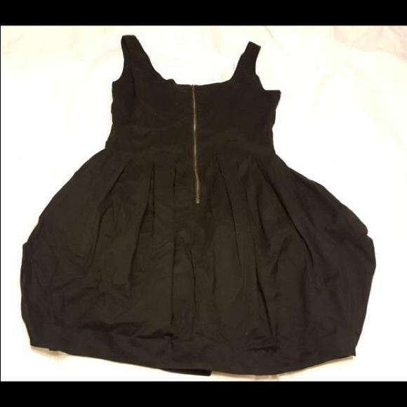 81% off Anthropologie Dresses & Skirts - Maeve Black Bubble Dress ...