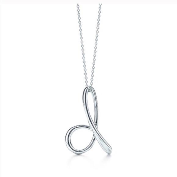 43 off tiffany co jewelry tiffany co d initial necklace in tiffany co d initial necklace in lowercase aloadofball Gallery