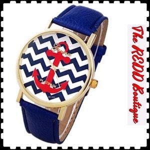 Geneva Accessories - Geneva Nautical WATCH