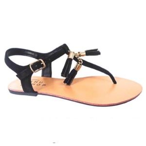 ShuShop Shoes - 🎉🎉HP 5/3🎉🎉Black Galaxy sandals