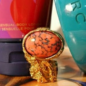 Yves Saint Laurent Jewelry - HOLD for Amanda-YSL Arty Ring in Coral