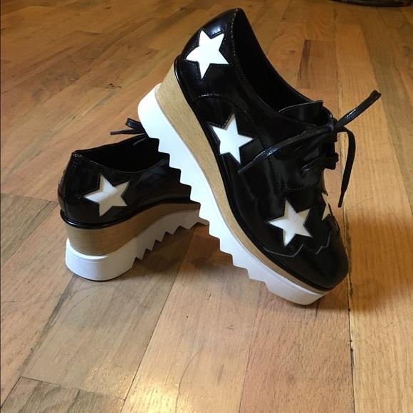 b8195a857bf6 M 56f15c054127d02670002a1e. Other Shoes you may like. STELLA MCCARTNEY  ELYSE STARS PLATFORMS. STELLA MCCARTNEY ELYSE STARS PLATFORMS