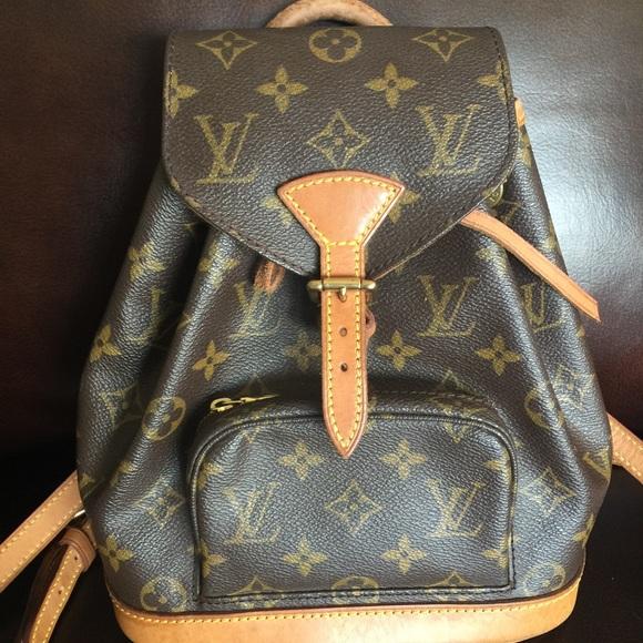 26a51b3c975e Louis Vuitton Handbags - Louis Vuitton Montsouris PM mini backpack