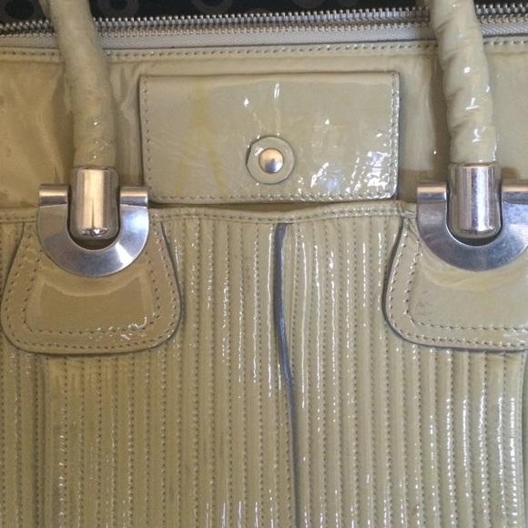 chloe purses - 91% off Chloe Handbags - Chloe Light Olive Patent Leather Tote ...