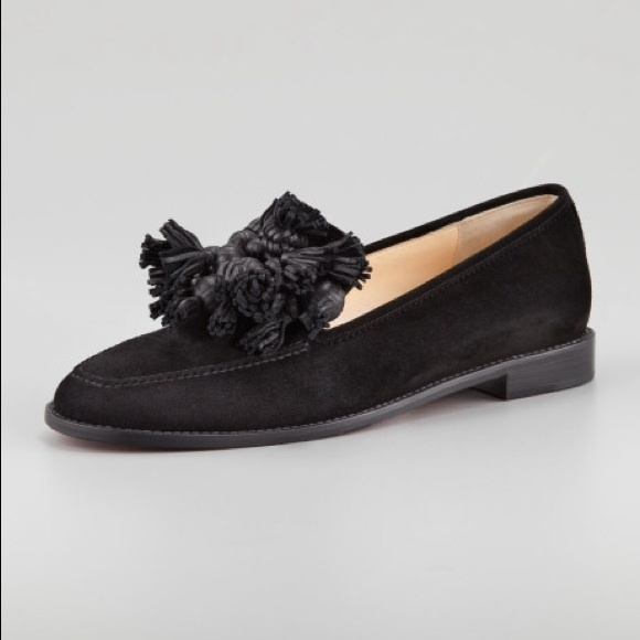 Christian Louboutin Shoes   Tassel Loafers   Poshmark 66998a1cc769