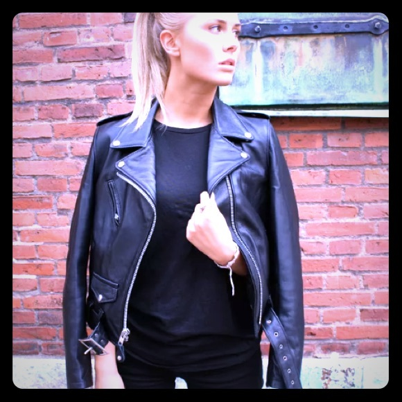 dc15f6003 Schott 218w Lambskin Perfecto black leather jacket