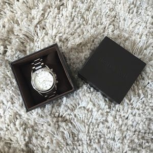 NWT Michael Kors Silver Watch