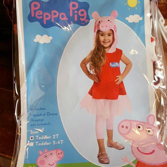 Peppa Pig Halloween Costume 2t