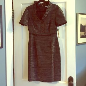 ANTONIO MELANI Dresses & Skirts - SALE! ❤️️NWT black and silver dress. Fully lined.