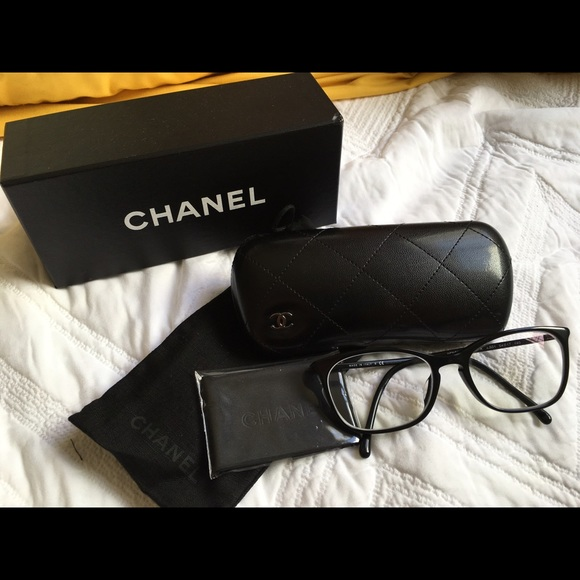 chanel 3281 black. chanel accessories - chanel eyeglasses 3281-a 3281 black o